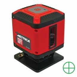 BOX2 - Cross lines laser, automatic leveling - METRICA